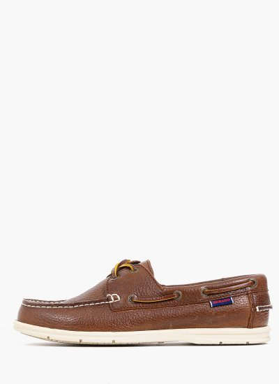 Men Sailing shoes 7000070 Brown Leather Sebago