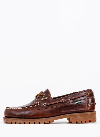 Men Sailing shoes 7002ILO Brown Leather Sebago