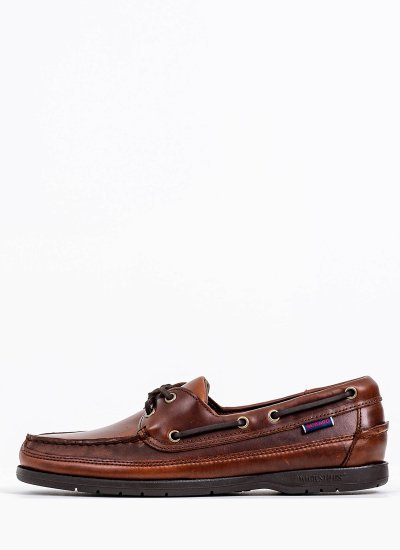Men Sailing shoes L7000GD0 Brown Leather Sebago