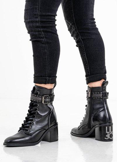 Women Boots BESS.5 Black Leather LIU JO