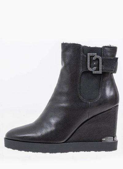 Women Boots GLEN.5 Black Leather LIU JO
