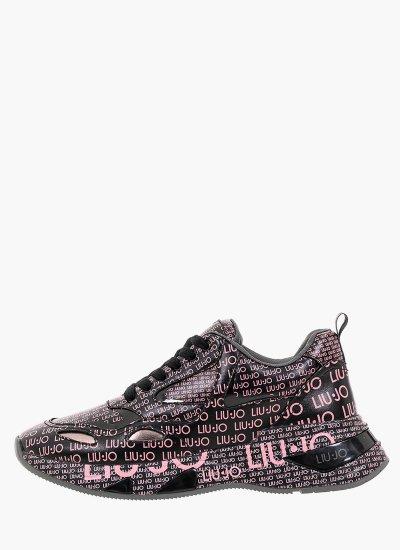 Women Casual Shoes Hoa.01 Black Eco-Leather LIU JO