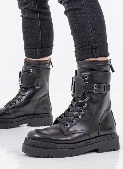 Women Boots Love.3 Black Leather LIU JO