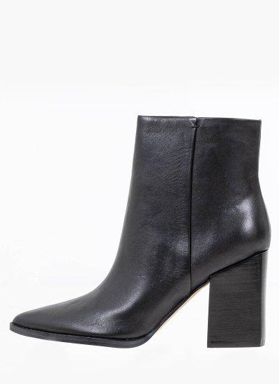 Women Boots Bryson Black Leather Nine West