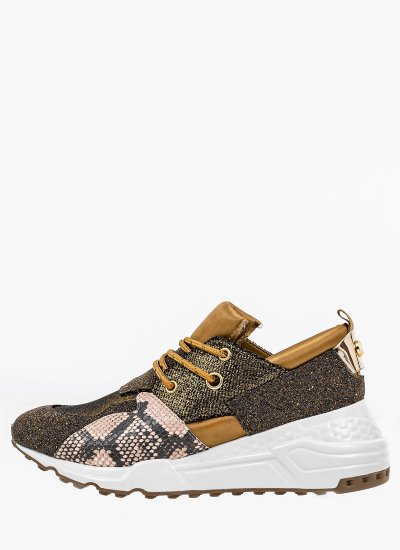 Women Casual Shoes Cliff.C Gold Eco-Leather Steve Madden
