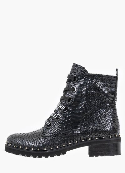 Women Boots Tess Black Eco-Leather Steve Madden