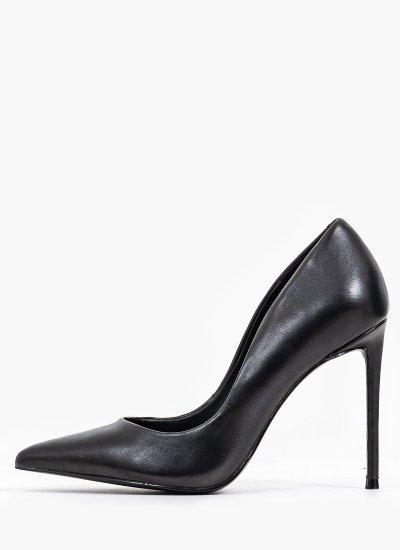 Women Pumps & Peeptoes High Vala Black Leather Steve Madden