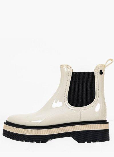 Women Boots Netty02 White Rubber Lemon Jelly