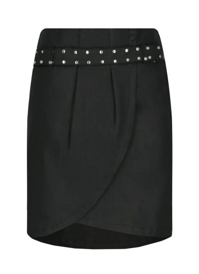 Women Skirts - Shorts Birthsean Black Eco-Leather Silvian Heach