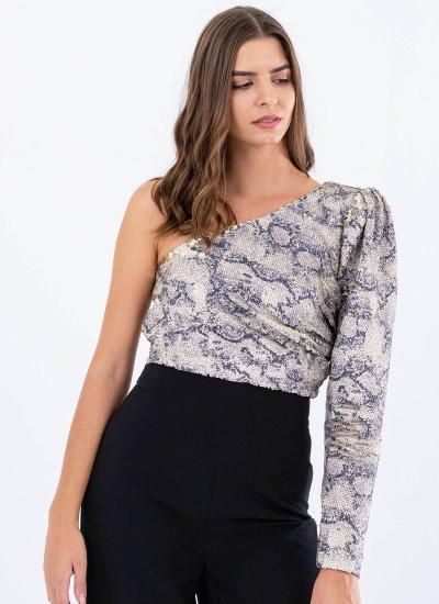 Women T-Shirts - Tops Chelseagirl Beige Polyester Silvian Heach