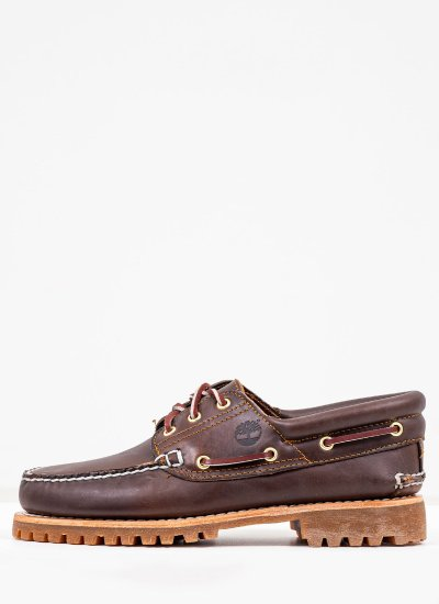 Men Sailing shoes 30003 Brown Leather Timberland