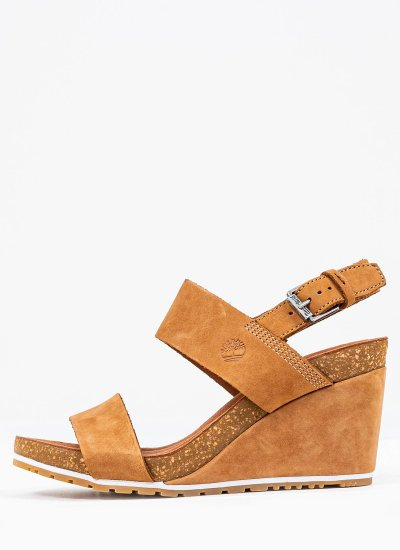 Women Platforms Low A1PGV Tabba Nubuck Leather Timberland