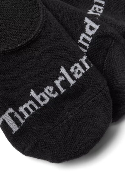 Men Socks A1XQK Black Cotton Timberland
