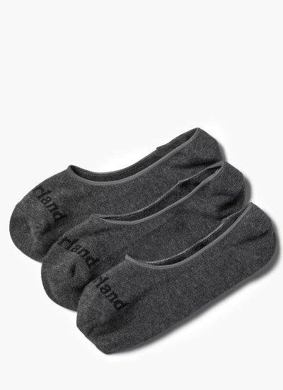 Men Socks A1XQK Grey Cotton Timberland