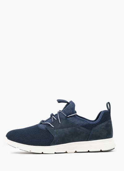 Men Casual Shoes A29F6 Blue Fabric Timberland
