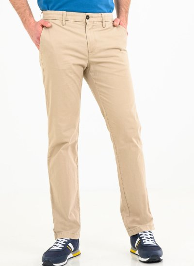 Men Pants A2BZA Ecru Cotton Timberland