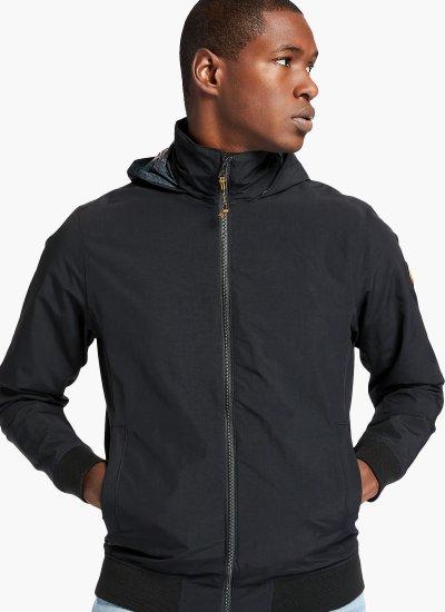 Men Jackets A2D8K Black Nylon Timberland