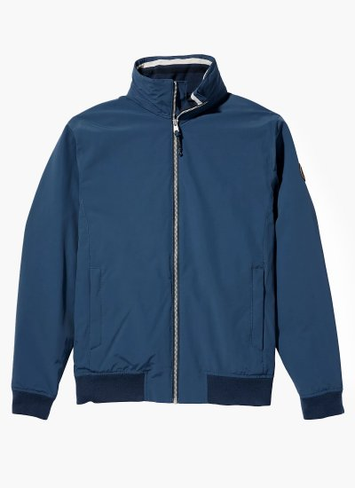 Men Jackets A2D8K Blue Nylon Timberland