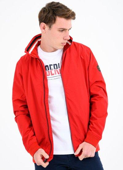 Men Jackets A2D8K Red Nylon Timberland