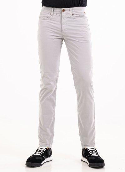 Men Pants A2FYP Grey Cotton Timberland