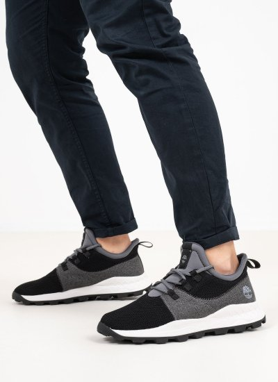 Men Casual Shoes A2HS2 Black Fabric Timberland