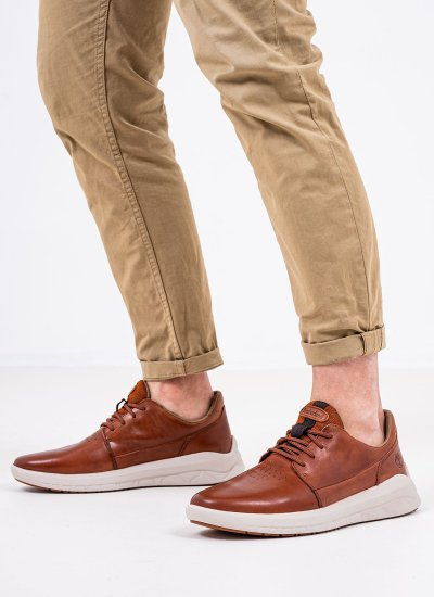Men Casual Shoes A2Q9E Brown Nubuck Leather Timberland