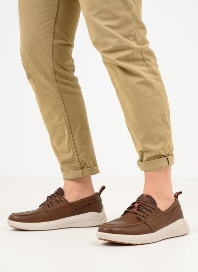 Men Casual Shoes A42FH Brown Nubuck Leather Timberland