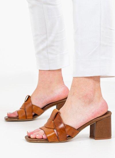 Women Sandals Low 5003 Tabba Leather Mortoglou