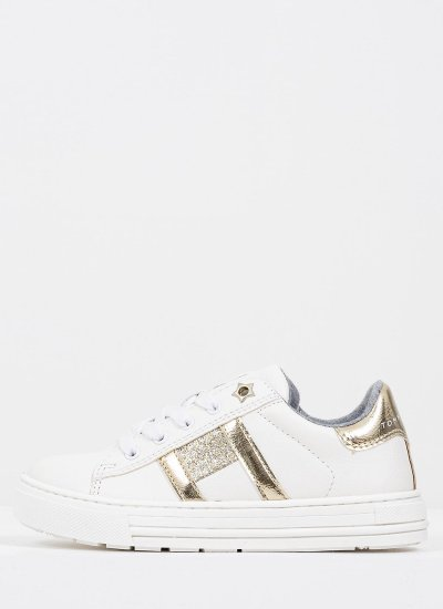 Kids Casual Shoes Cut.Pl White Eco-Leather Tommy Hilfiger