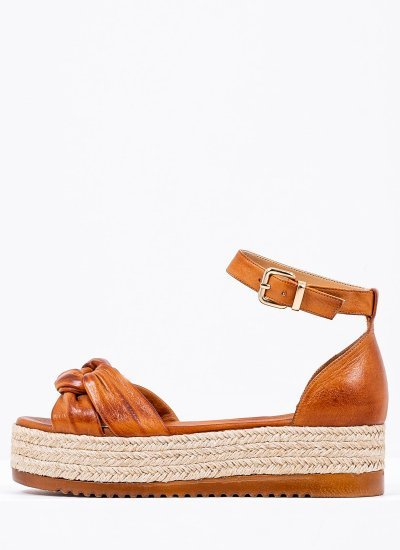 Women Platforms Low 2129.10540 Tabba Leather MF