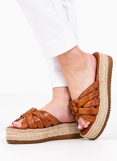 Women Platforms Low 2129.10545 Tabba Leather MF