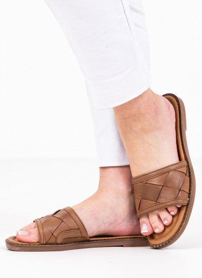 Women Flat Sandals 27125 Tabba Leather Tamaris