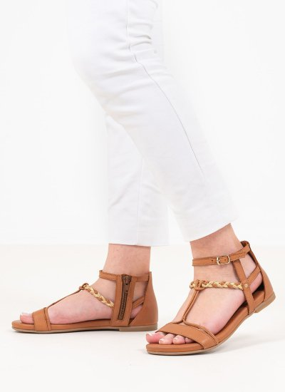 Women Flat Sandals 28043 Tabba Leather Tamaris