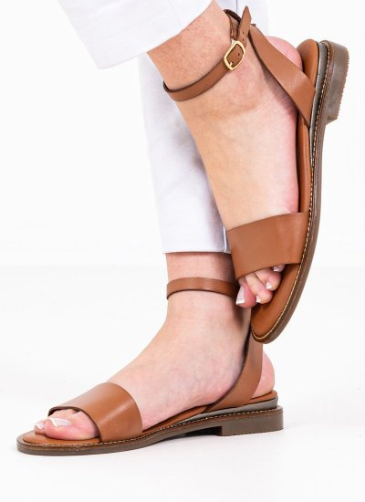 Women Flat Sandals 28260 Tabba Leather Tamaris