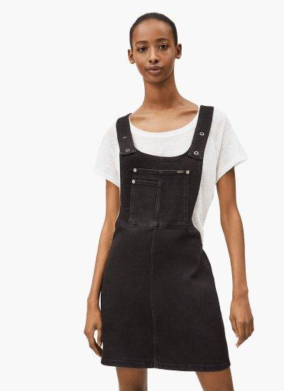 Aspen Black Cotton Pepe Jeans