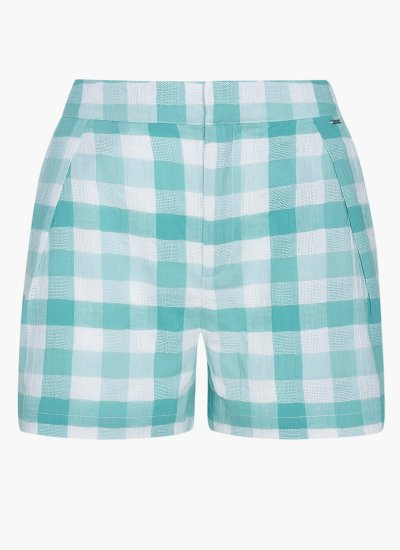 Women Skirts - Shorts Clarice Blue Cotton Pepe Jeans