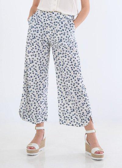 Lois Blue Linen Pepe Jeans