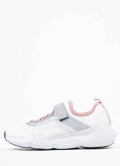 Kids Casual Shoes Bubblex White Geox