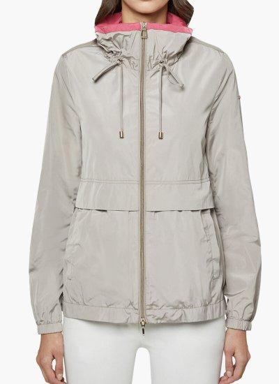 Women Coats - Jackets Genziana Beige Polyester Geox