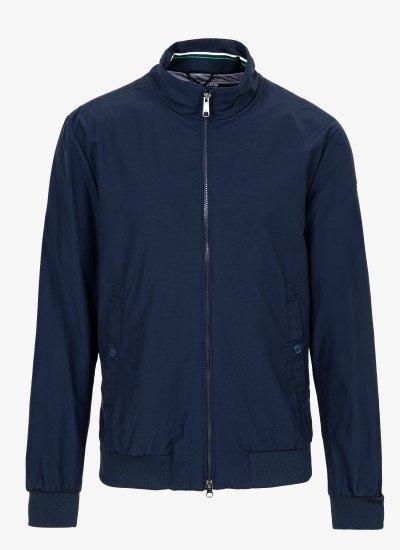 Men Jackets M0220D DarkBlue Nylon Geox