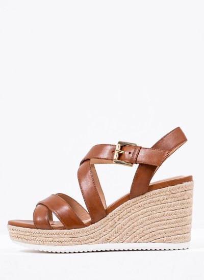 Women Platforms High Ponza Tabba Leather Geox