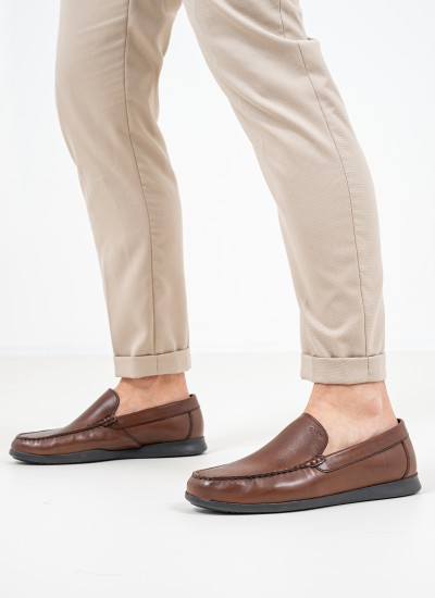 Men Moccasins Sile2.Fit Tabba Leather Geox