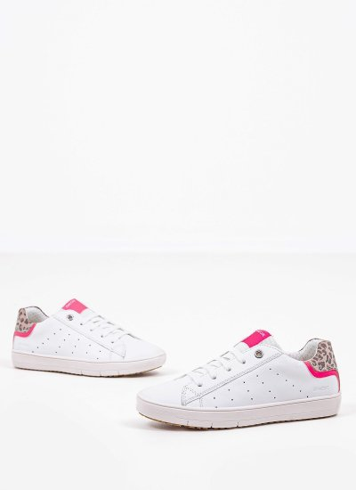 Kids Casual Shoes Silenex.G.A White Leather Geox