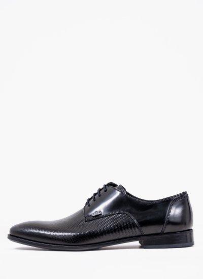 Men Shoes Q4972.Pyr Black Leather Boss shoes