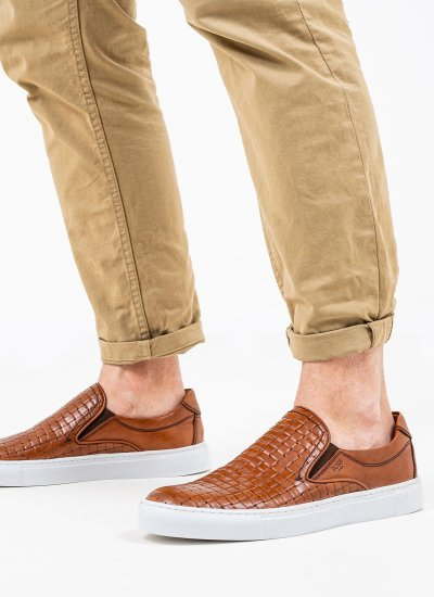 Men Moccasins Q5223 Tabba Leather Boss shoes