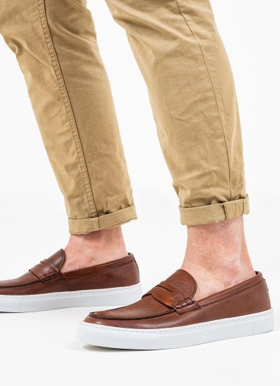 Men Moccasins Q5409.Rpt Tabba Leather Boss shoes