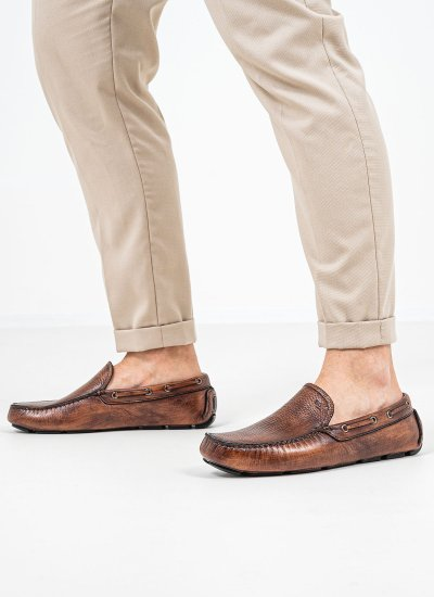 Men Moccasins Q5783 Tabba Leather Boss shoes