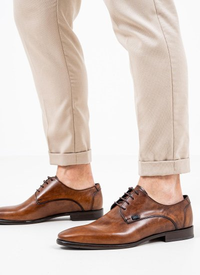Men Shoes Q6383 Tabba Leather Boss shoes