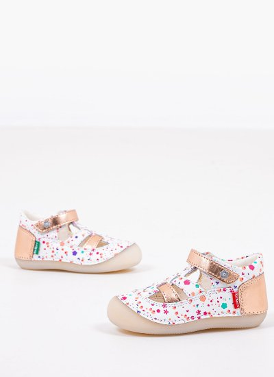 Kids Casual Shoes 784846 White Leather Kickers