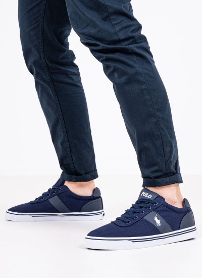 Men Casual Shoes Hanford.Ne Blue Ralph Lauren